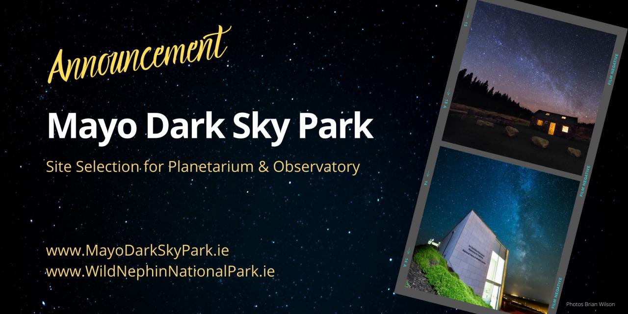 Announcement - Mayo Dark Sky Park