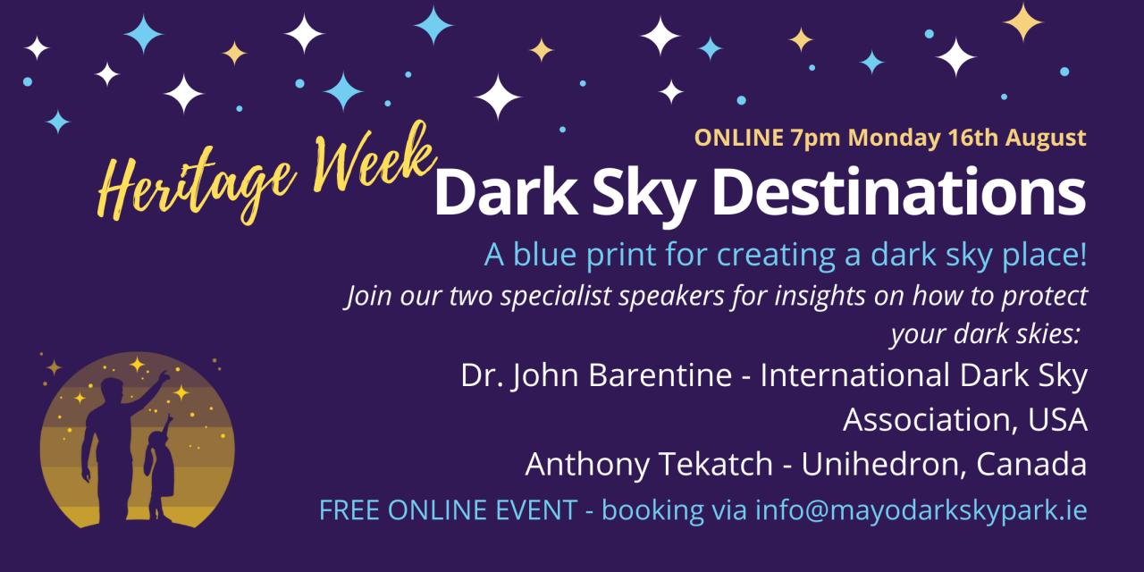 Dark Sky Accreditation Webinar