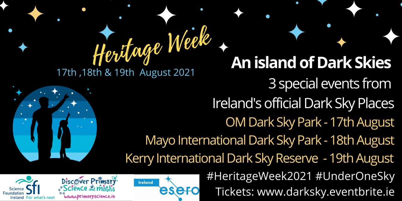 An Island of Dark Skies - Heritage Week Special Events